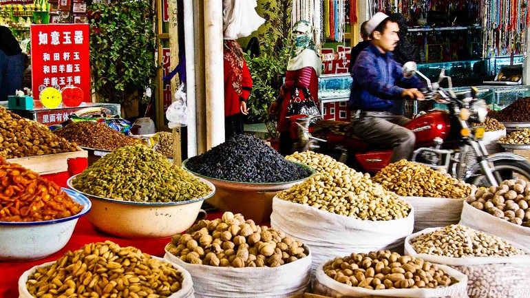 Food  in Xinjiang