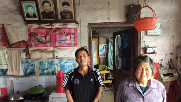 China's great changes, two generations in China