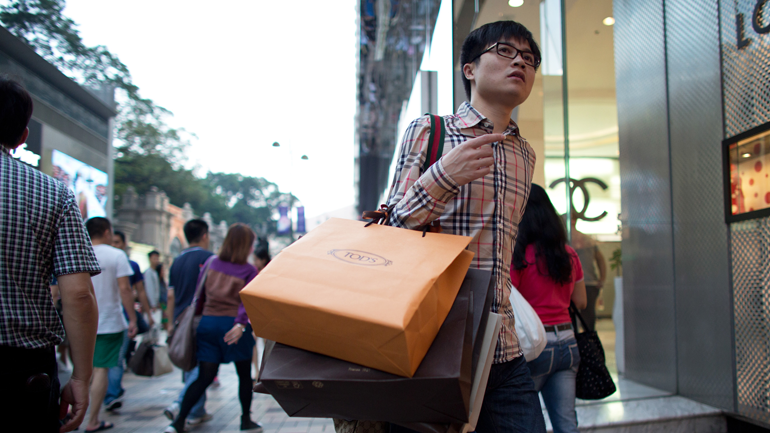 Chinese middle class, Chinese consumption market