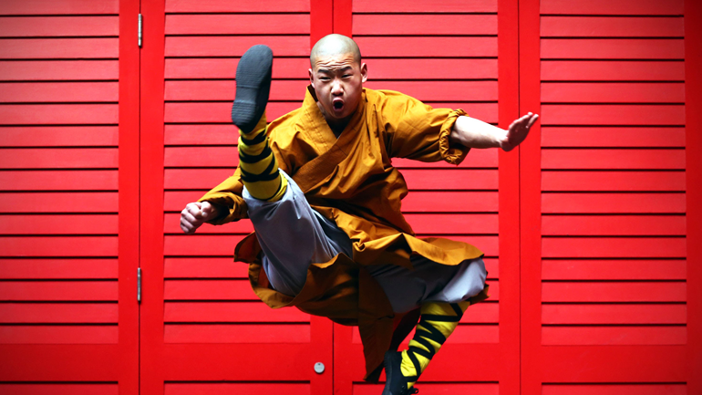 learning Chinese Kung Fu, Shaolin Temple