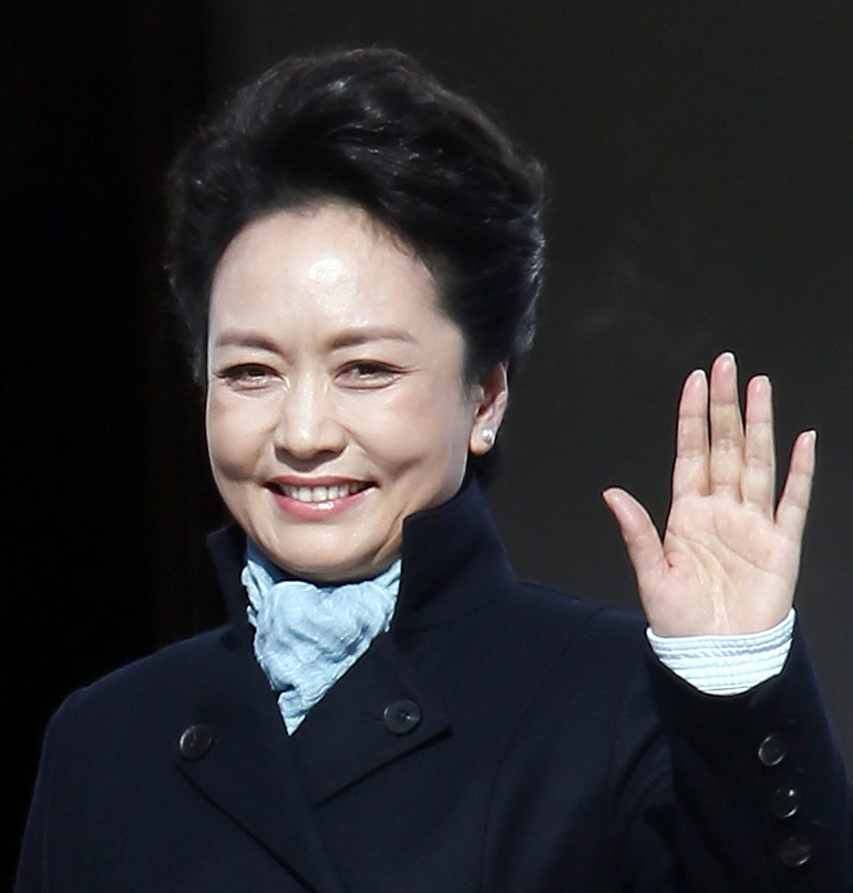 peng liyuan, prominent women in china