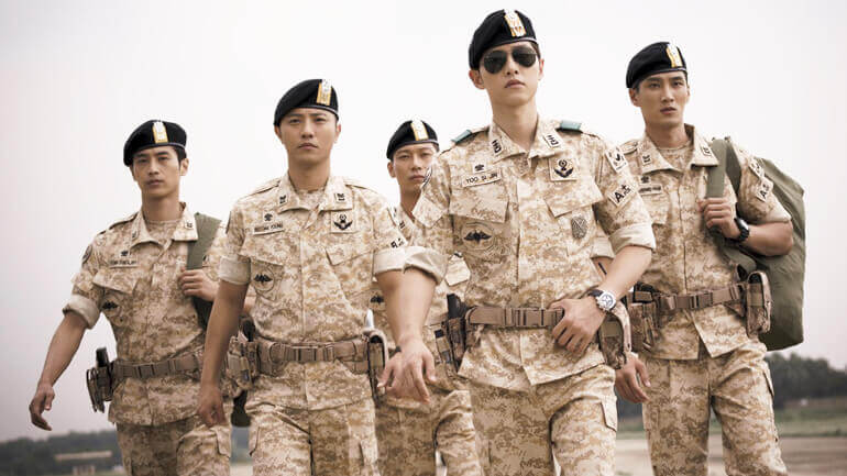 Descendants of the Sun, military ranks in Chinese, learning Chinese