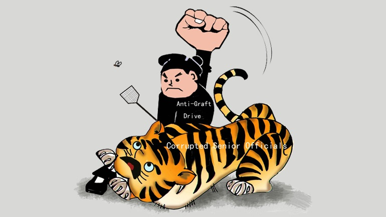 tiger and fly, president xi, chinese phrases, learn chinese